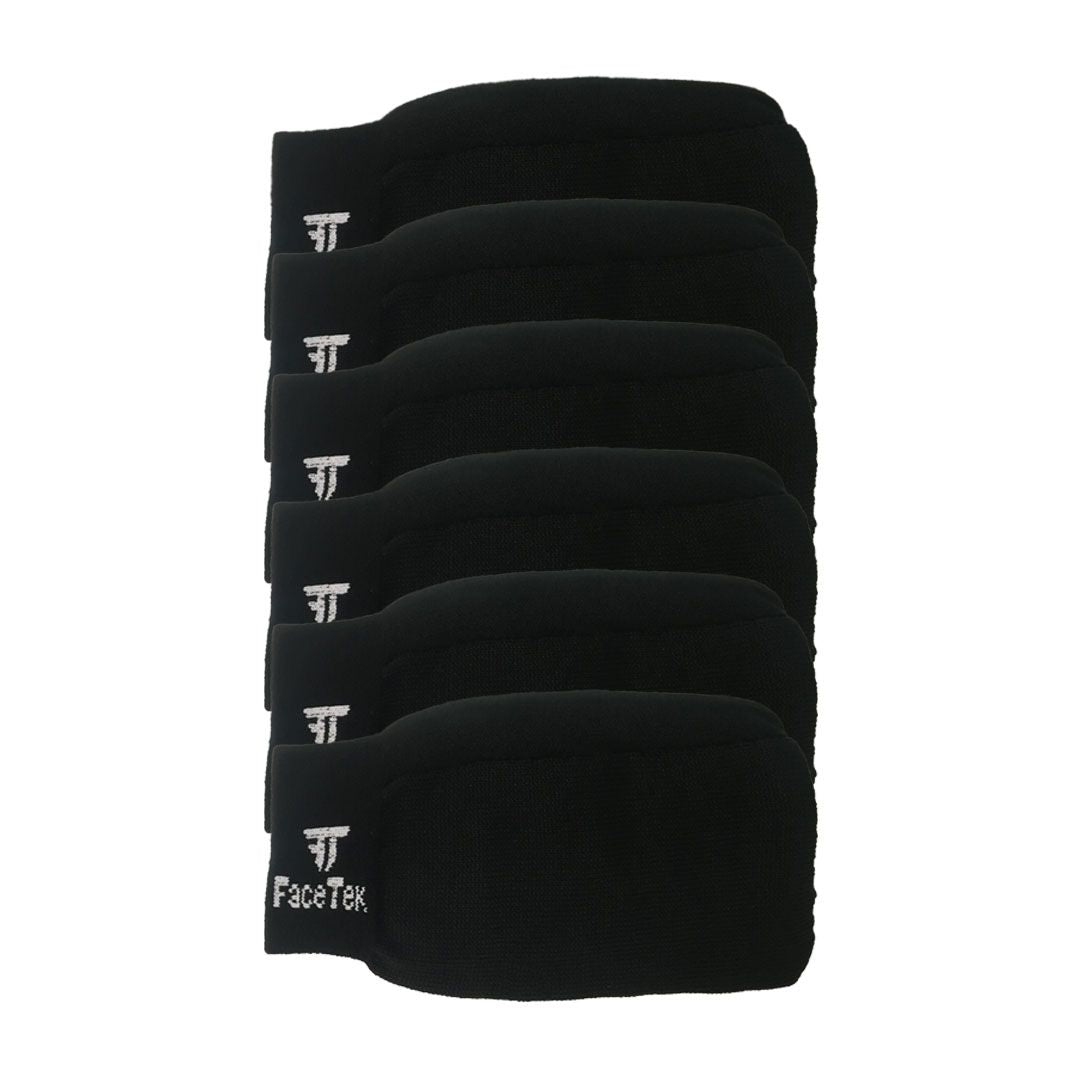 6 Pack of Black Masks
