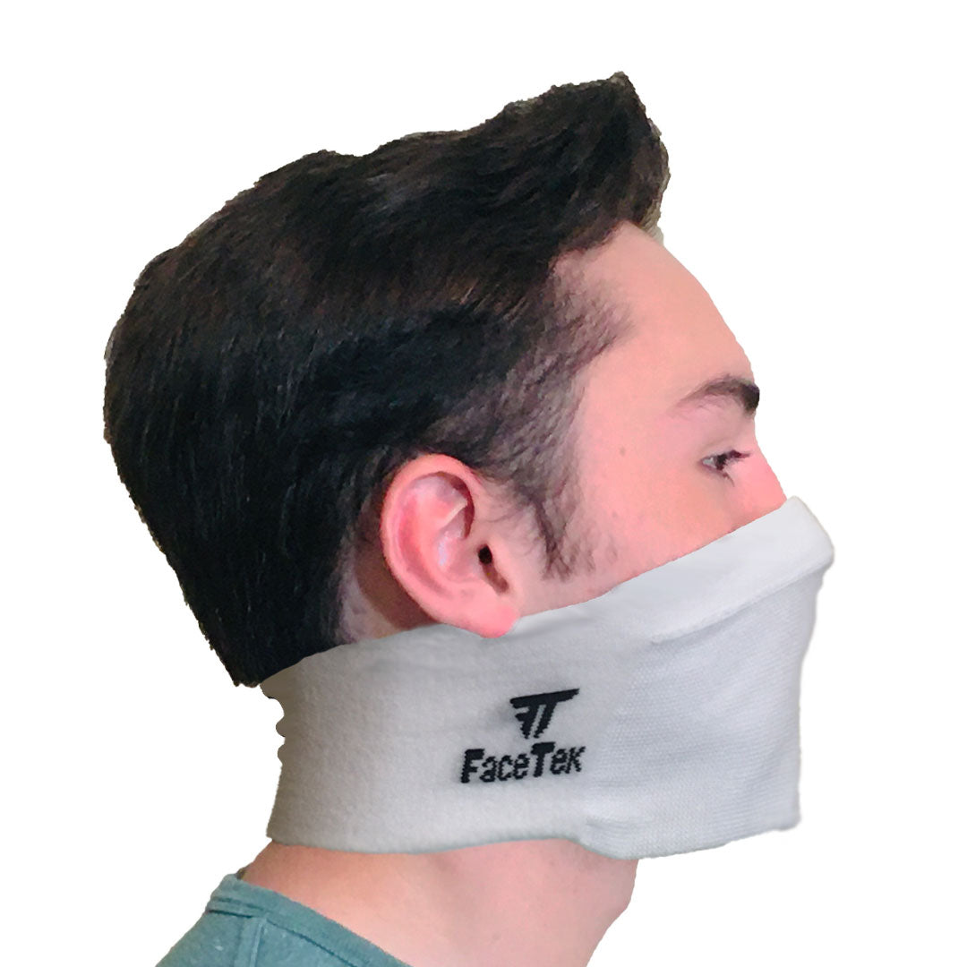 White Personal Protective Mask