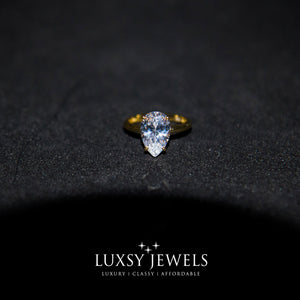Luxsy Sahara Ring - 925 Silver - Luxsy Jewels