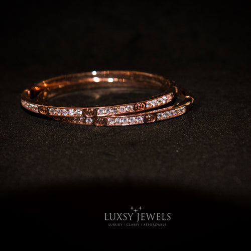 2 Luxsy Eternity Bangles - Luxsy Jewels