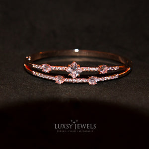 Luxsy Crown Bangle - Luxsy Jewels