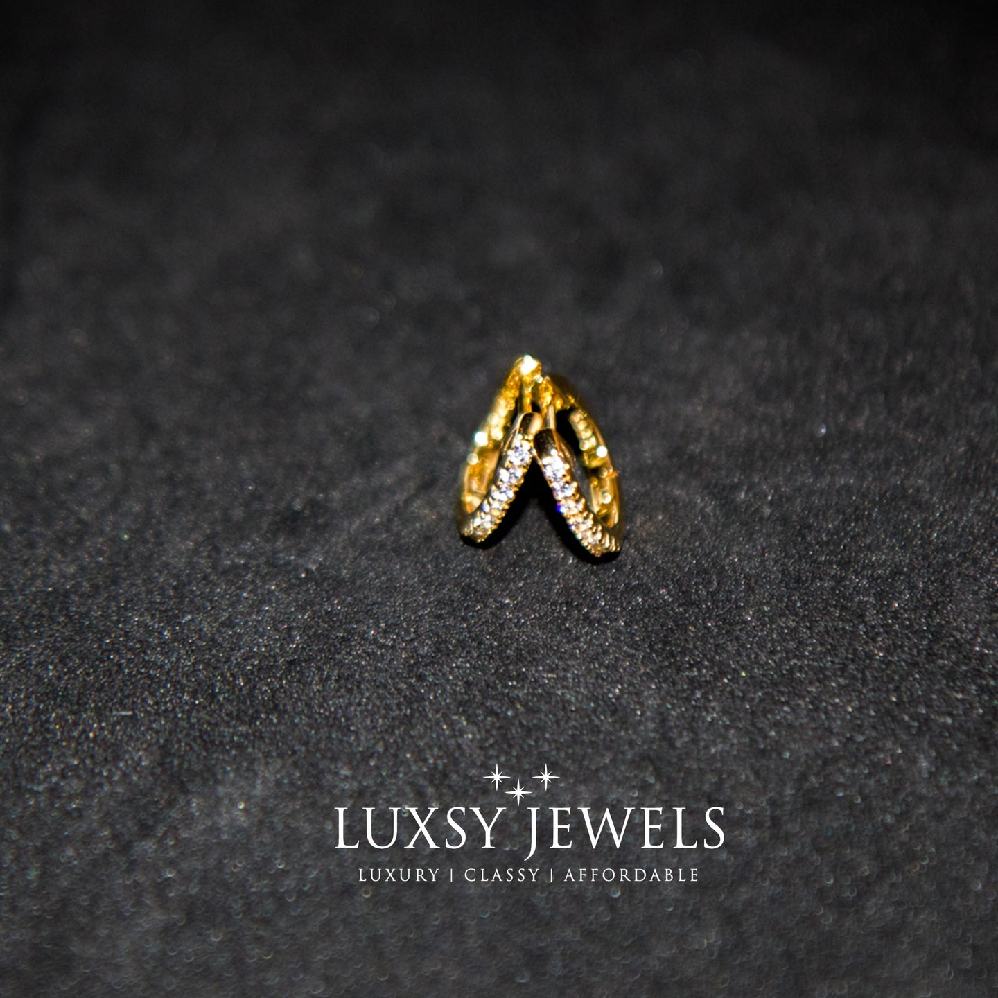 Luxsy Petra Earrings - 925 Silver - Luxsy Jewels