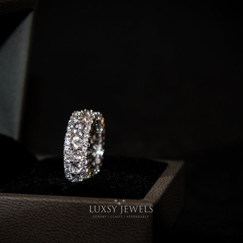 Luxsy Marina Ring - 925 Silver - Luxsy Jewels