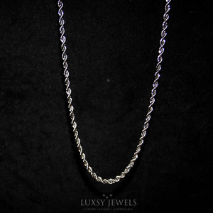 Titanium Steel Rope Chain - Luxsy Jewels