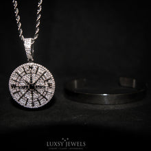 Load image into Gallery viewer, Compass Necklace + Luxsy Cuff Bundle - Luxsy Jewels