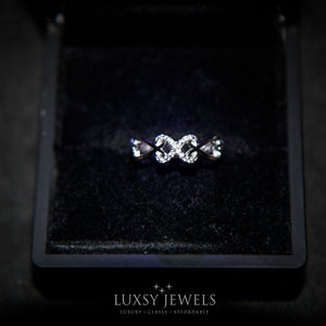 Luxsy Infinity Ring - 925 Silver - Luxsy Jewels