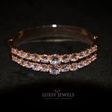 Load image into Gallery viewer, 2 Luxsy Layla Bangles - Luxsy Jewels