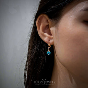 Luxsy Aurora Earrings - 925 Silver - Luxsy Jewels