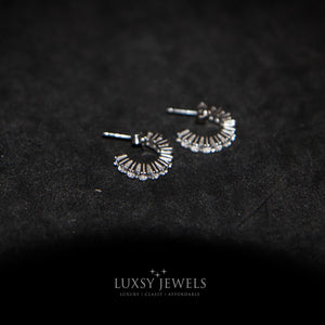 Luxsy Oregon Earrings - 925 Silver - Luxsy Jewels