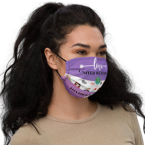 "Spread the Love Mask: ""United We Stand"""