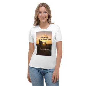Christian Women's T-shirt: Spread the Love