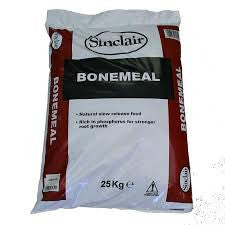 **IN STORE SPECIAL OFFER 25 KG BAG £19.99 ONLY** Bonemeal (Organic Fertiliser) 25kg Bag