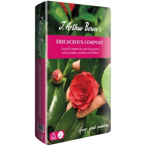 **IN STORE SPECIAL OFFER EACH BAG £4.99 ONLY**               J. Arthur Bower's Ericaceous Compost