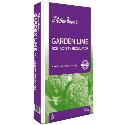 ** IN STORE SPECIAL OFFER 25 KG BAG £9.99 ONLY** J. Arthur Bowers Garden Lime 25 KG