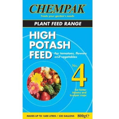 **IN STORE SPECIAL OFER 800g £6.99 ONLY** Chempak Formula 4 High Potash Feed 800g