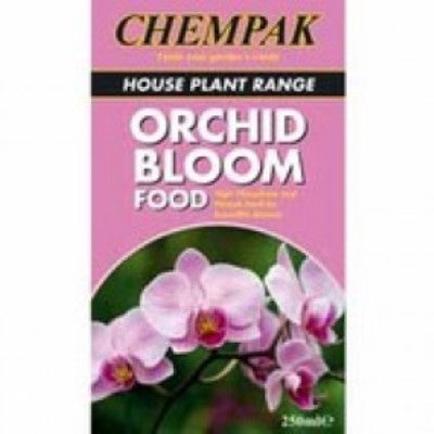 **IN STORE SPECIAL OFFER 250ml £6.99 ONLY** Chempak Orchid Bloom Food 250ml