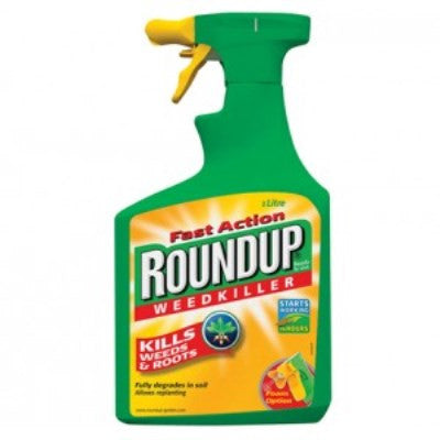 **IN STORE SPECIAL OFFER 1L BOTTLE £4.99 ONLY** Roundup Fast Action Ready to Use Weedkiller 1L