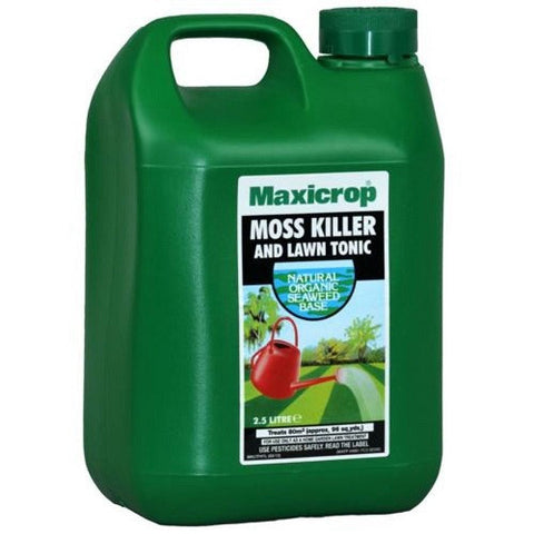 **IN STORE SPECIAL OFFER 2.5L £10.99 ONLY** Maxicrop Moss Killer and Lawn Tonic 2.5L