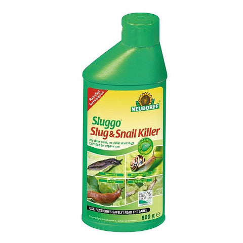 **IN STORE SPECIAL OFFER £5.99 ONLY** Neudorff Sluggo Slug & Snail Killer 800g