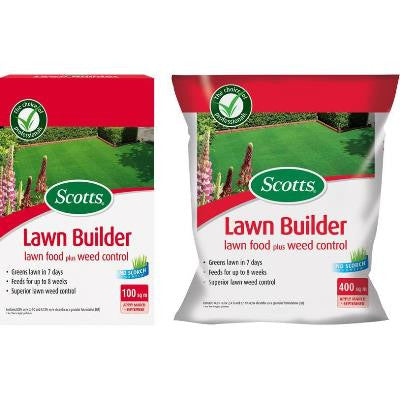 Scotts Lawn Builder Lawn Feed with Weed Control 400sqm