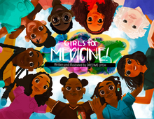 "Load image into Gallery viewer, ""Girls For Medicine"" Book"