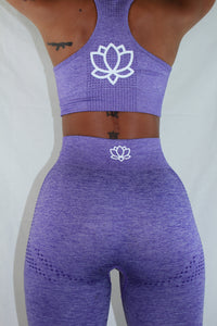 Purple Agate Two-Piece Set