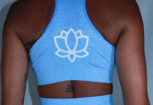 Aquamarine Sports Bra