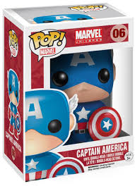 POP! Funko - #06 Captain America