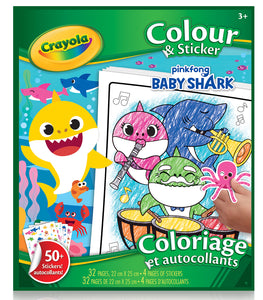 Color Wonder - Colouring & Sticker Book Baby Shark