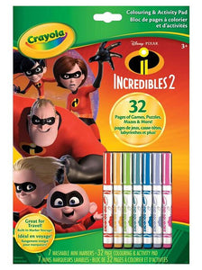 Color Wonder - Colouring & Activity Pad Incredibles 2