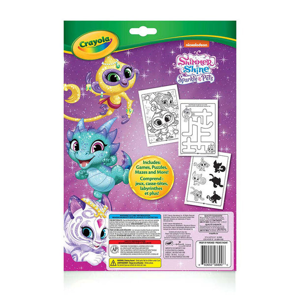 Color Wonder - Colouring & Activity Pad Shimmer & Shine
