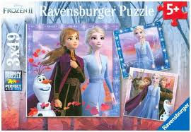 Disney Frozen 2  3x49pc