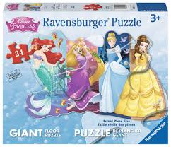 Disney Princesses  24pc FLOOR
