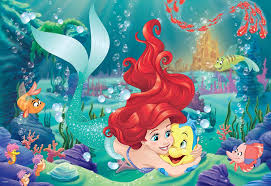 Hugging Ariel  24pc FLOOR