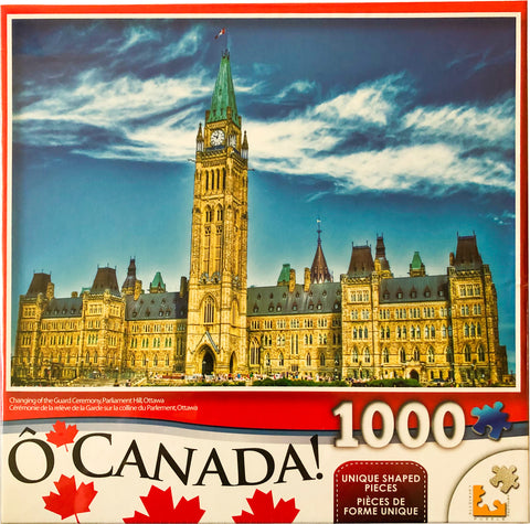 O Canada Puzzle : Changing of the Guard Ceremony, Parliament Hill, Ottawa - 1000pc