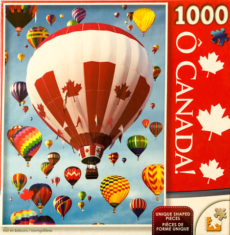 O Canada Puzzle : Hot Air Balloons - 1000pc