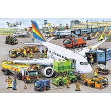 Busy Airport  35pc