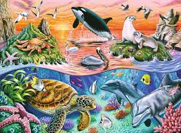 Beautiful Ocean  100 pc