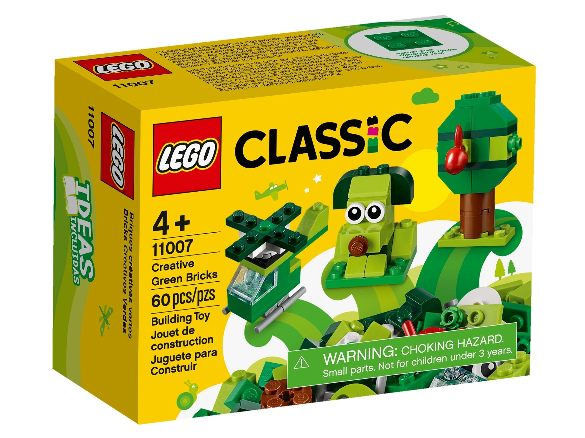 LEGO Classic - Creative Green Bricks