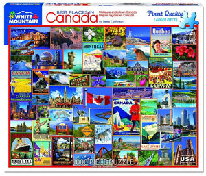 Best Places in Canada - White Mountain 1000pc