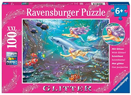 Glitter Little Mermaids  100 pc