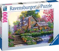 Romantic Cottage 1000 pc