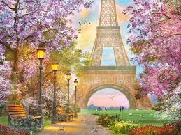 Paris Romance - 1500pc