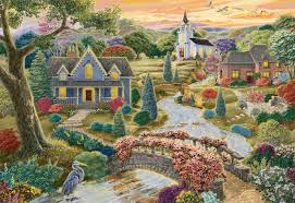 Enchanted Valley - 2000pc Puzzle
