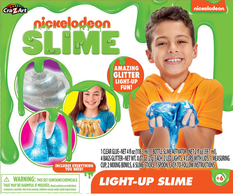 Nickelodeon Slime Kit - Light Up Slime