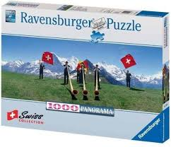 Swiss Collection Flag Wavers 1000 pc