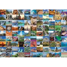 99 Beautiful Places on Earth  1000 pc