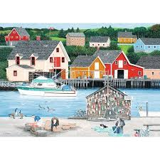 Fishermans Cove  1000 pc Puzzle