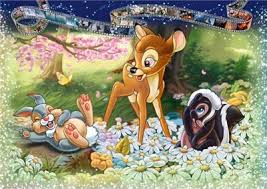 Disney Bambi 1000 pc Puzzle