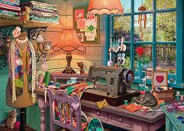 The Sewing Shed  1000 pc